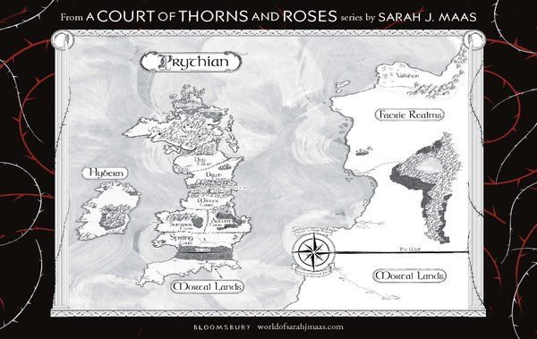 Map of Prythian (A Court of Thorns and Roses)