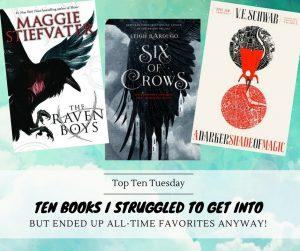 170905 Books I Struggled To Get Into
