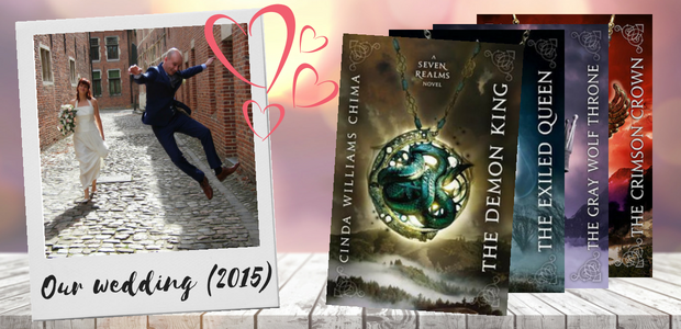 The Seven Realms Series by Cinda Williams Chima