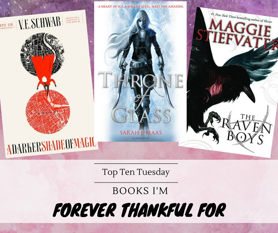 171121 Books I'm thankful for