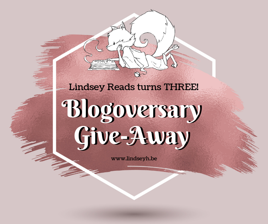 Lindsey Reads Turns Three - Blogoversary Giveaway